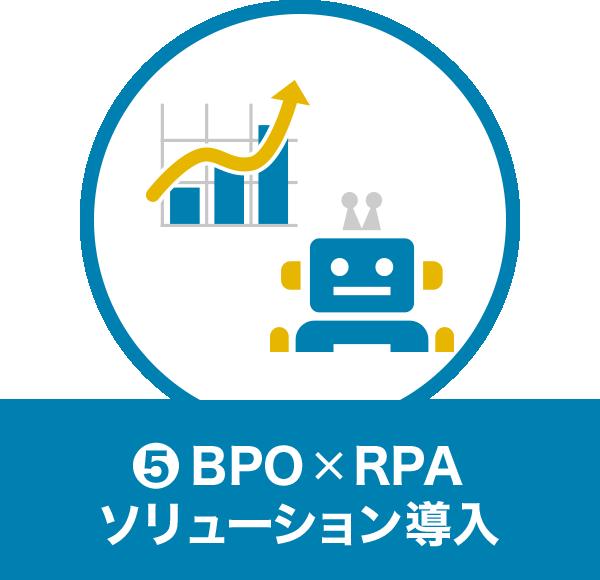 5.BPO×RPA ソリューション導入