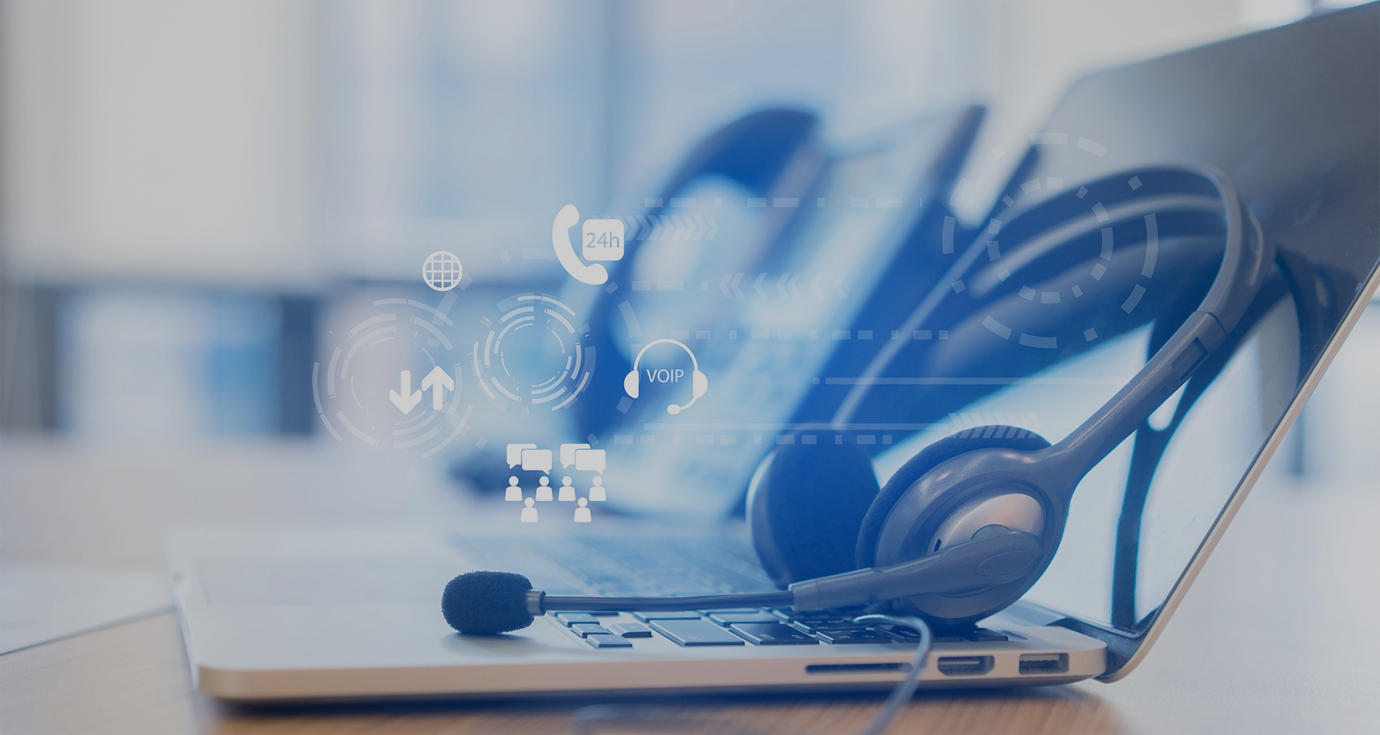 次世代型コールセンター お客様の用途に合わせAI/RPAを活用したコールセンターを構築・運用